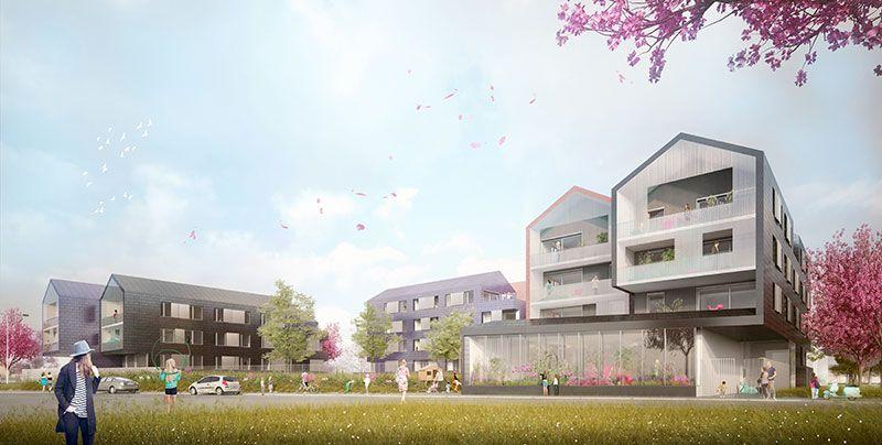 A Bezannes, Plurial Novilia signe 43 logements locatifs « haute qualité architecturale »