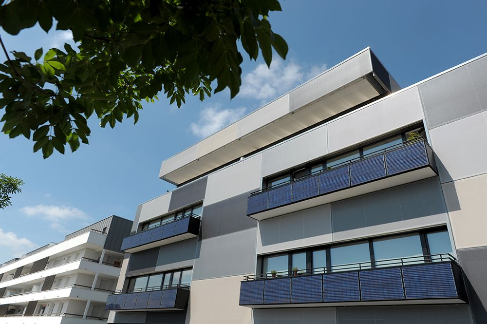 1er immeuble à énergie positive
