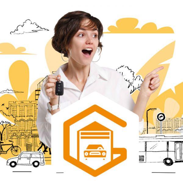 Réservez votre garage directement en ligne sans frais, sans obligation !