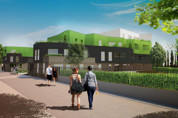 Ecoquartier Rema Vert (îlot B3)