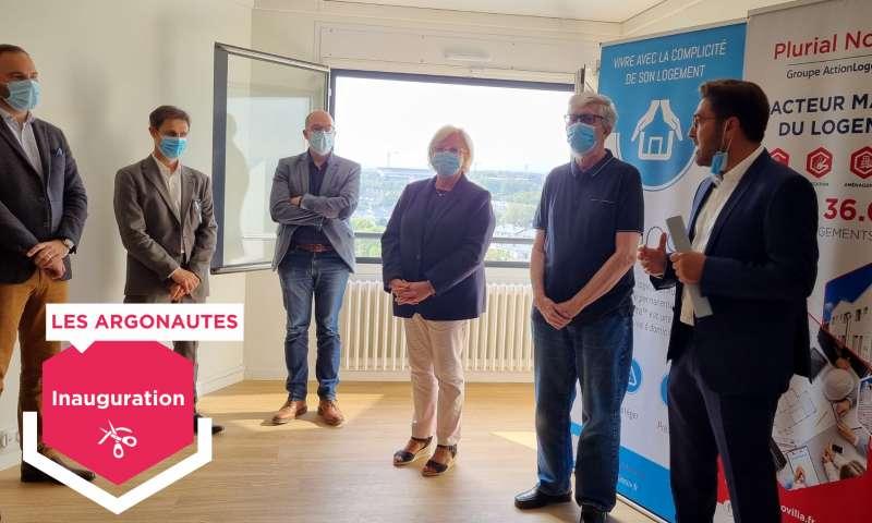 Plurial Novilia - Habitat senior partagé au coeur des Châtillons : la Tour des Argonautes s'apprête à accueillir ses premiers locataires