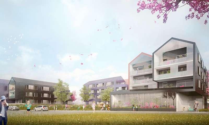Plurial Novilia - A Bezannes, Plurial Novilia signe 43 logements locatifs « haute qualité architecturale »