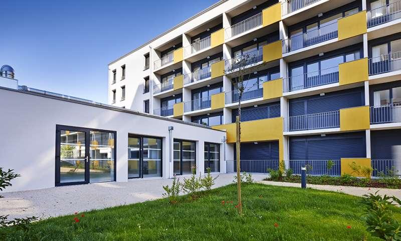 Plurial Novilia - Les Silènes, une nouvelle résidence sociale dédiée aux apprentis du Pôle de Formation des Industries Technologiques de Reims
