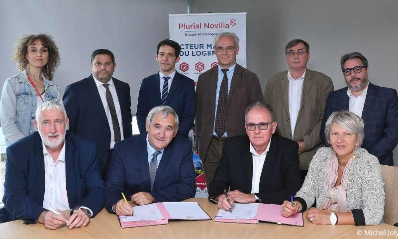 Plurial Novilia - Création d'une nouvelle SAC HLM : Plurial Novilia et l'OPH de Saint-Dizier se dessinent un avenir commun