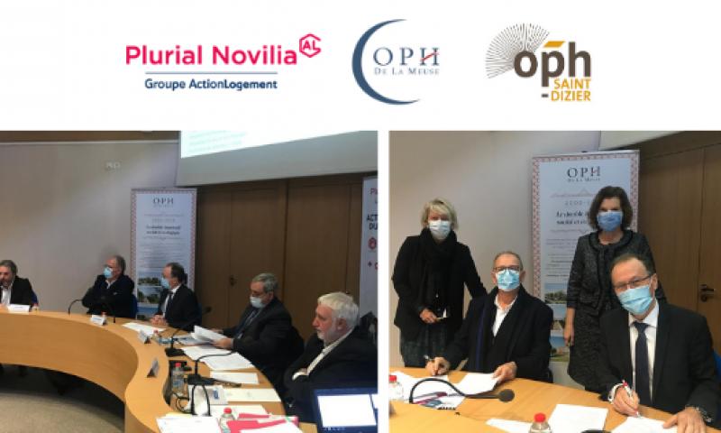Plurial Novilia - L'OPH de la Meuse rejoint la SAC Territoriale Plurial Novilia - Saint-Dizier